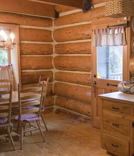 Log Home Shell Woodlandia Web Site