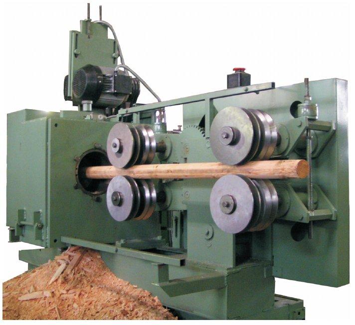 log machine